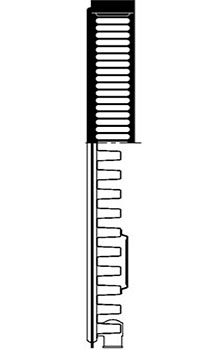 Конструкция панельного радиатора, тип 11