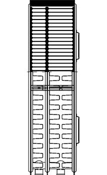 Конструкция панельного радиатора, тип 33